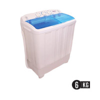 Abans 6KG Semi Automatic Top Loading Twin-Tub Washing Machine TW60-452