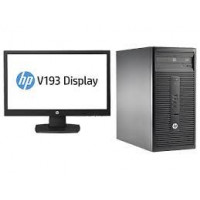 HP ProDesk 400 G3 Intel Core i3-6100 3.7 GHz 6th Gen Microtower PC