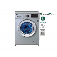 LG 6.5Kg 6 Motion Direct Drive Washer, Luxury Silver, Smart Diagnosis, Baby Care F1296WDL24