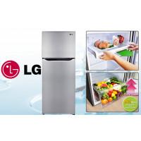 LG Double Door Smart Inverter Refrigerator GL-B282