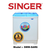 Singer Washing Machine Top Load 6Kg